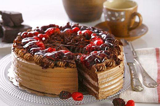 Mixed Forest Fruit Cake
