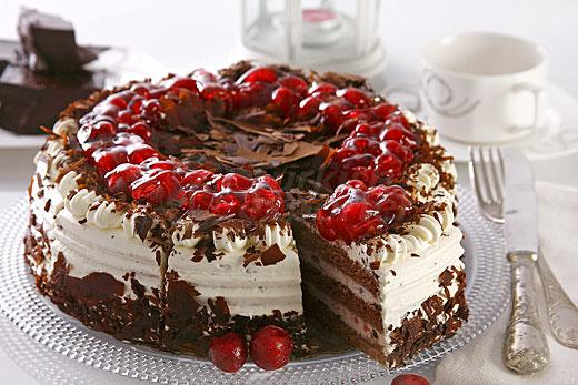 Black Forest Fruit Cake