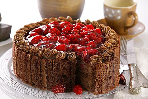 Raspberyy Chocolate Cake
