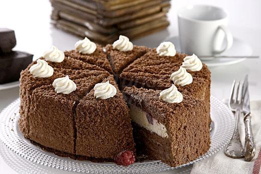 Blackberry Cake With Vanilla