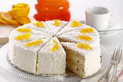 Orange Cake With Coconut