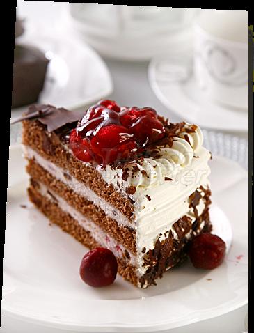 Black Forest Fruit Cake