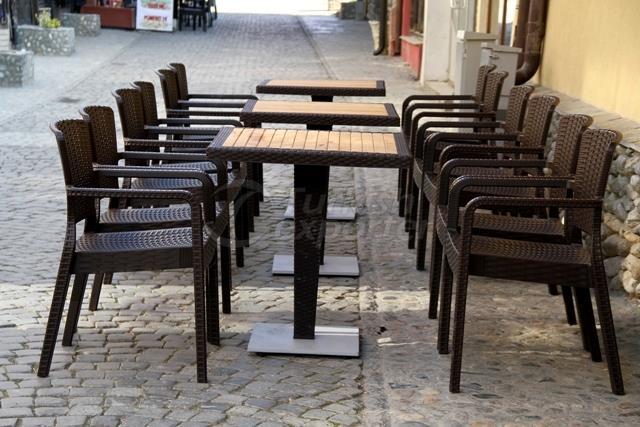 Armchair Antares - Table Antares