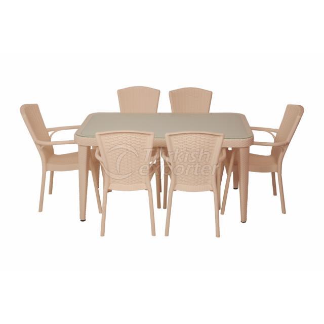 Chair and Tables Osaka - Royal Cream