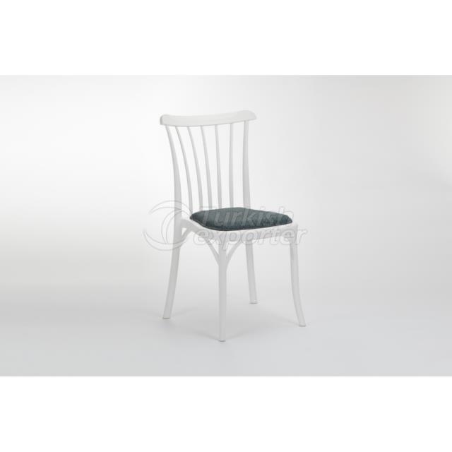 Chair Gozo Pad Ivory White