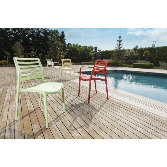 Chair Louise - Armchair Louise XL