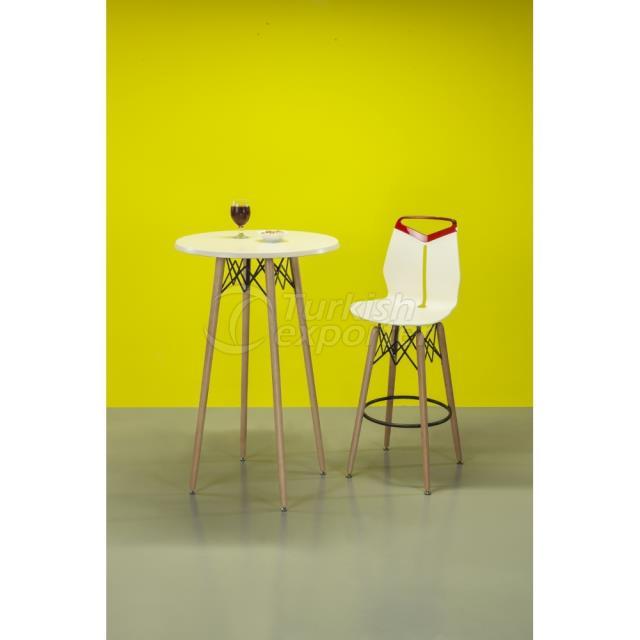Wooden Leg Table Lamax