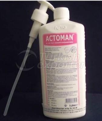 Actoman sıvı sabun 1lt.