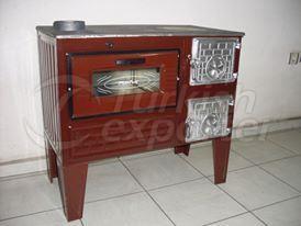 Brick Cooking Stove Reverse Firepan