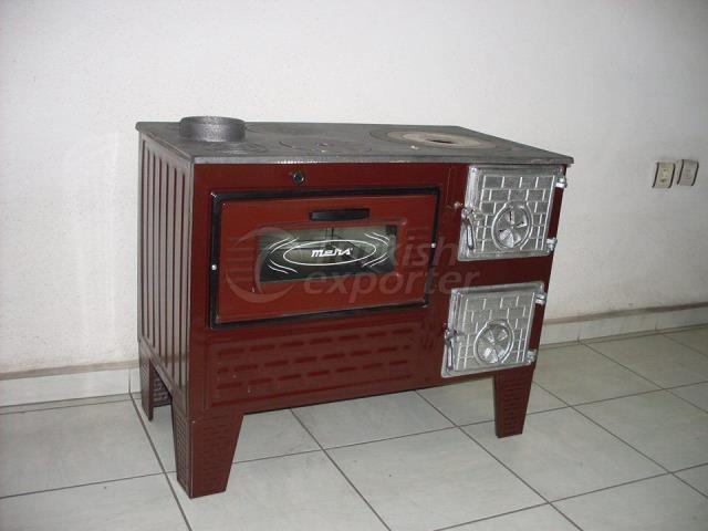40 Brick Cooking Stove Reverse Firepan