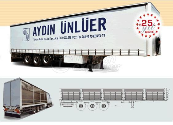 Curtainsider Transporter