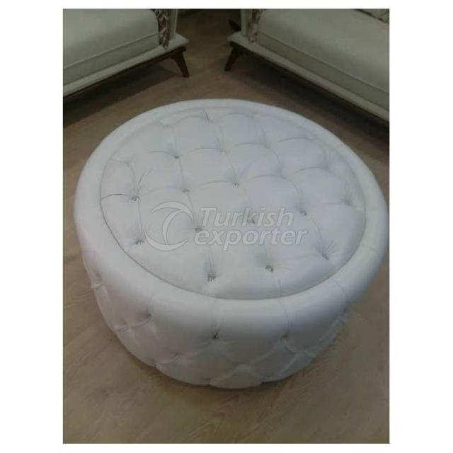 White Beanbag Chair