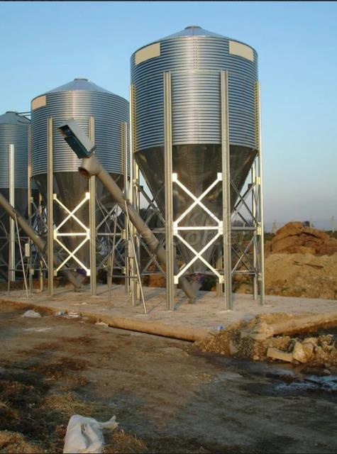 Conical Silos