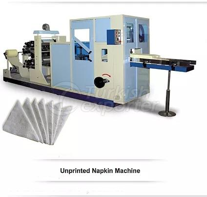 Unprinted Napkin Machine