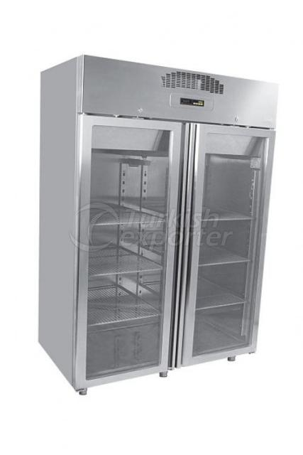 Glass Two-Door Refrigerators