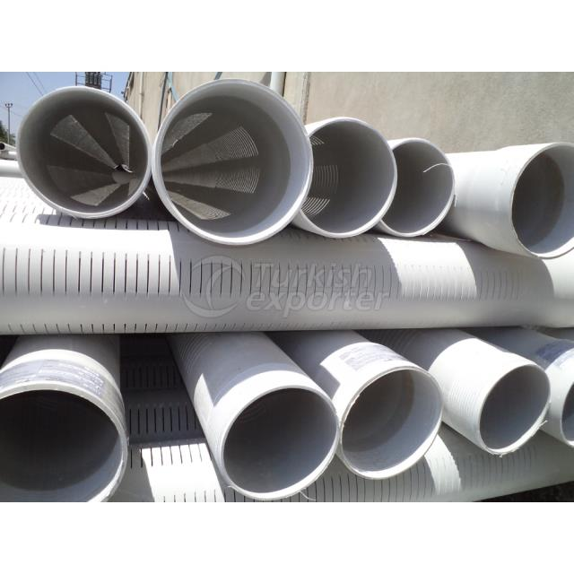 PVC-U Filtered Deep Well Pipe