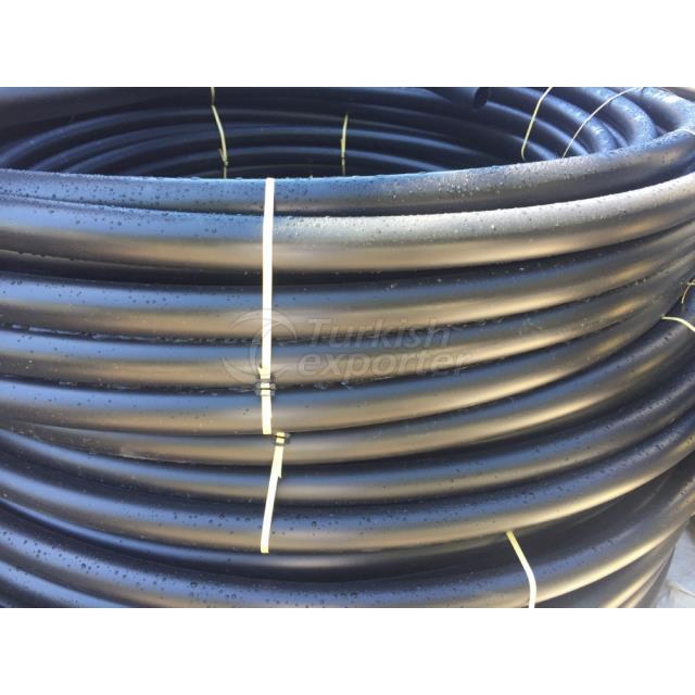 Polyethylene black tube coil