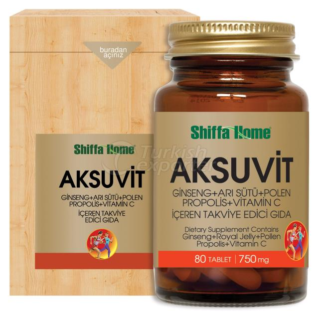 Aksuvit Herbal Vitamin Supplement