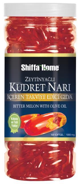 Bitter Melon Olive Oil Softgel