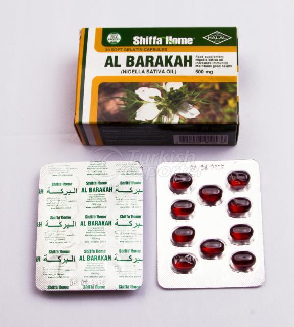 Black Seed Oil Softgel Blister Pack