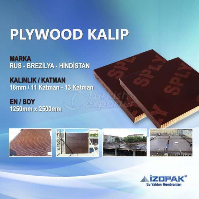 Plywood 18mm (12502500mm) Concrete Form