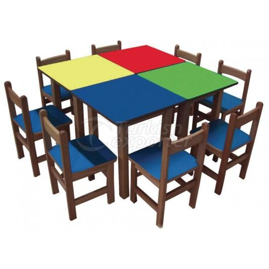 Square Table Sets