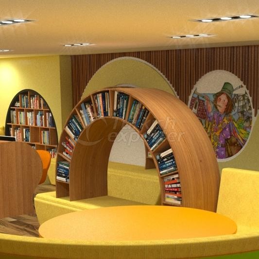 Special Designed School Library
