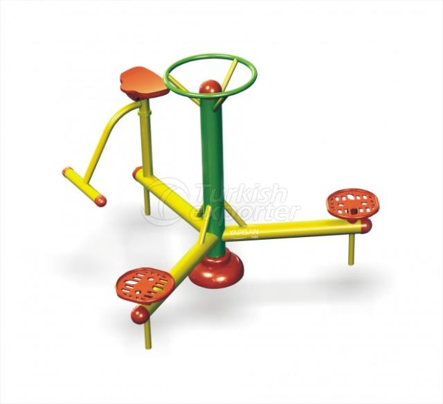 Outdoor Fitness Equipments 003656