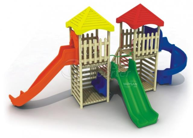 Wooden Kids Playgrounds 232629
