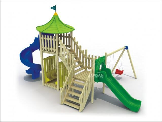 Wooden Kids Playgrounds 144041