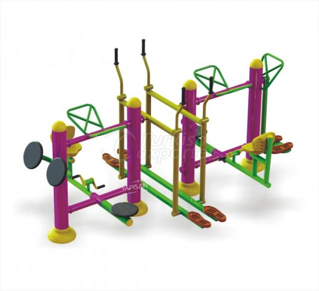 Outdoor Fitness Equipments 002749