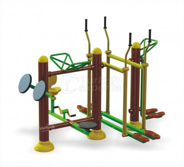 Outdoor Fitness Equipments 002835