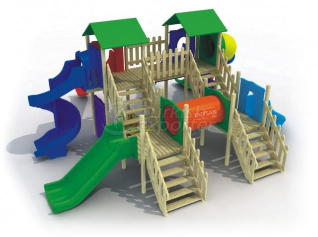 Wooden Kids Playgrounds 232906