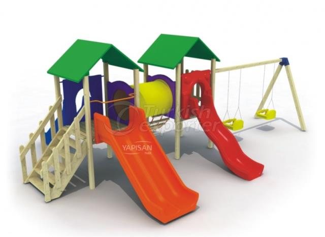 Wooden Kids Playgrounds 232746