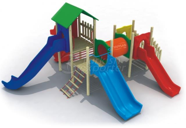 Wooden Kids Playgrounds 232828