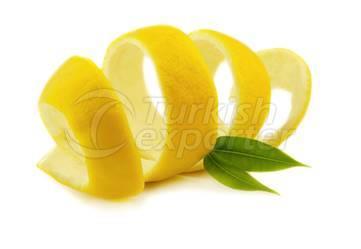 Dried Lemon Peel