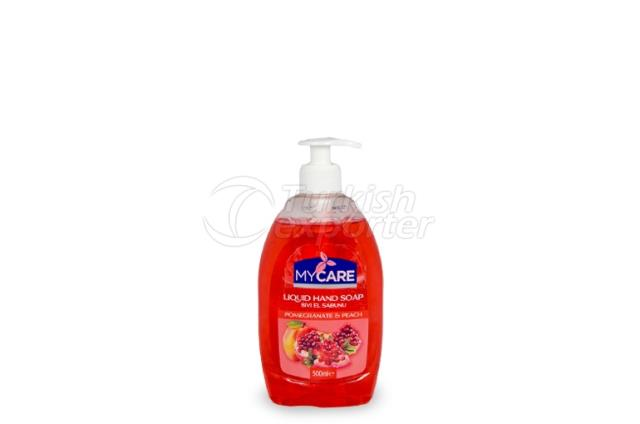 Liquid Hand Soap – Pomegranate-Peach