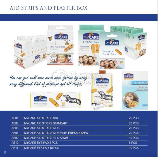 First aid strips