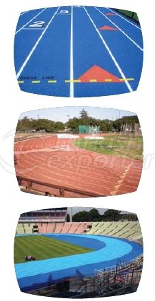 EPDM Ground Running Track Systems