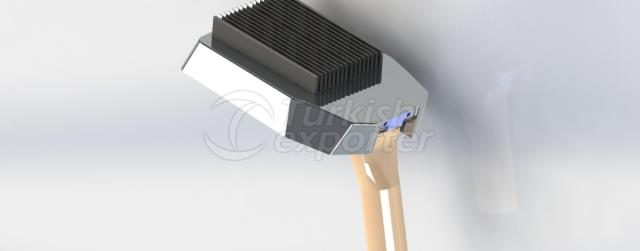 Composite Led Luminaire with IP Camera