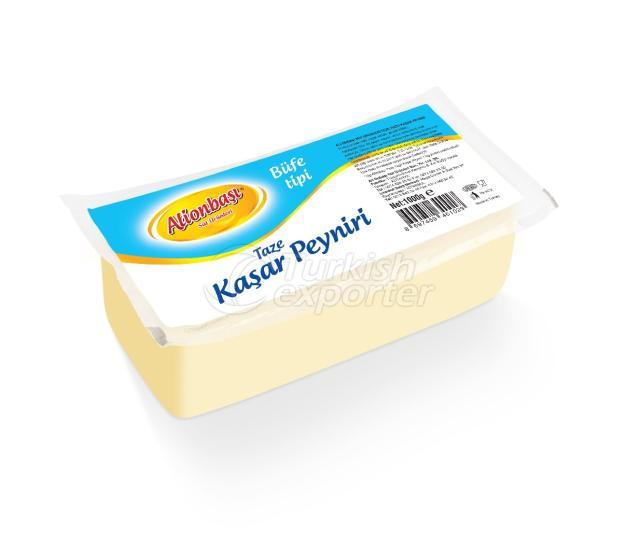 Buffet Type Fresh Cheddar Cheese