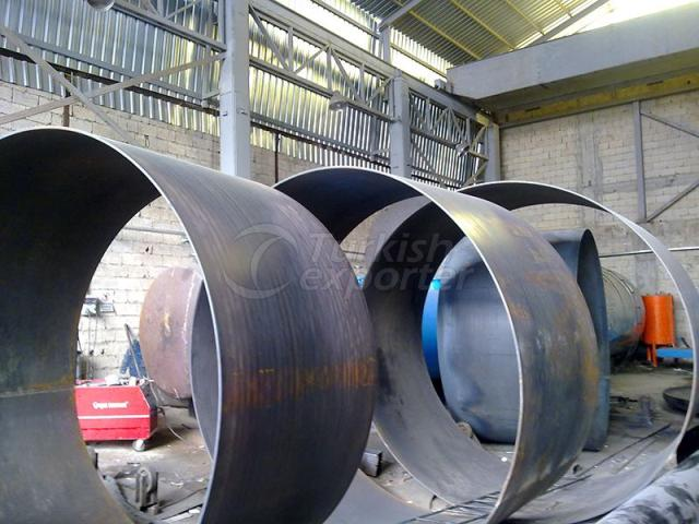 Mounting Penstock Pipe