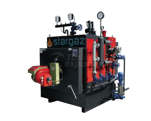 Fluid-Gas Fuel Steam Boilers