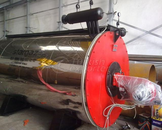 Fluid-Gas Fuel Thermal Oil Boilers