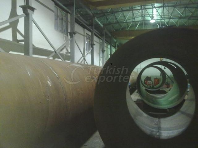 Mounting Penstock Pipe