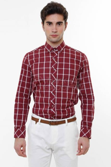 WSS Wessi Checkered Cotton Shirt