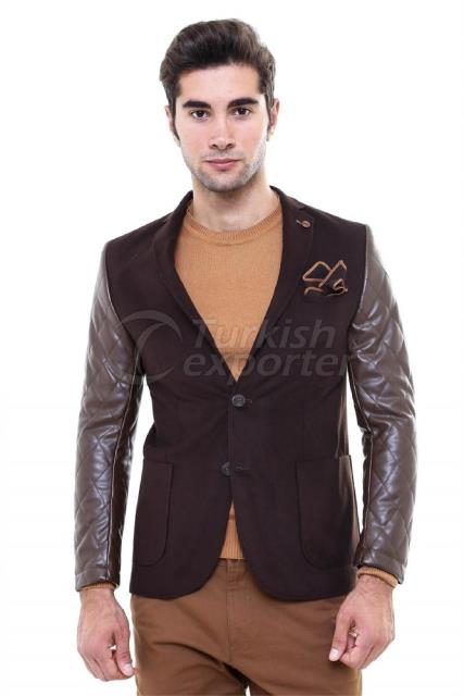 WSS Wessi Leather Sleeve Jacket