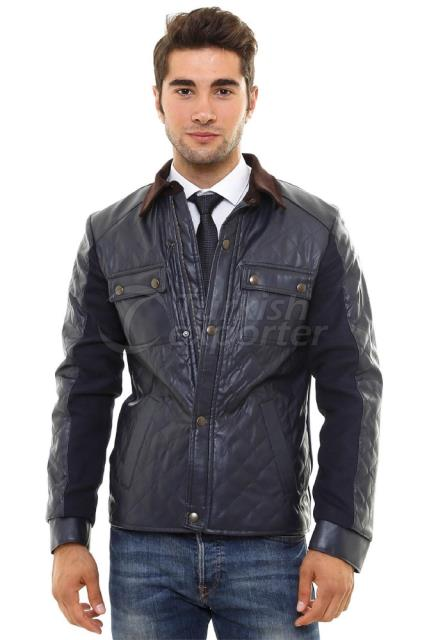 WSS Wessi Quilted Leather Coat