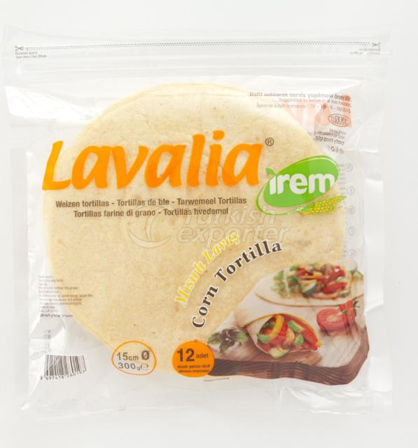 Lavash with Corn Lavalia