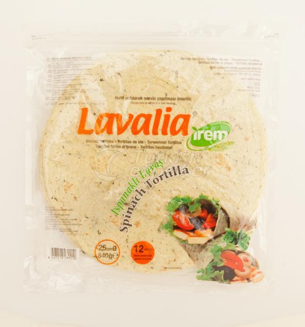 Lavash With Spinach Lavalia